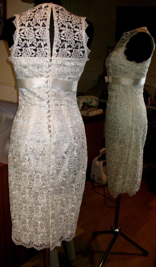 Фото самых красивых платьев из гипюра